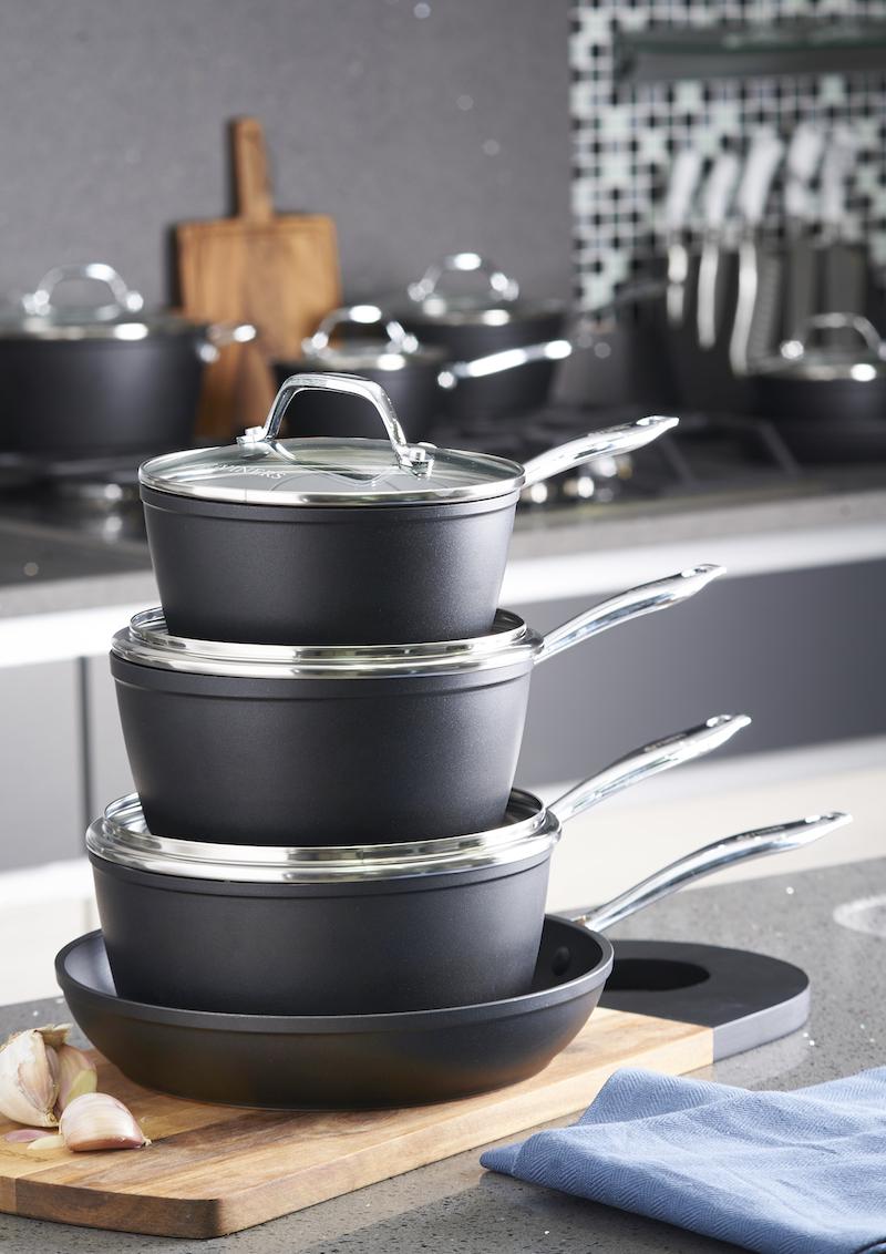 aluminium pots and pans
