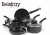 Beldray five piece pan set