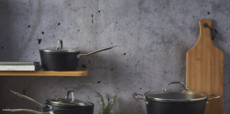 viners forged aluminium pan set
