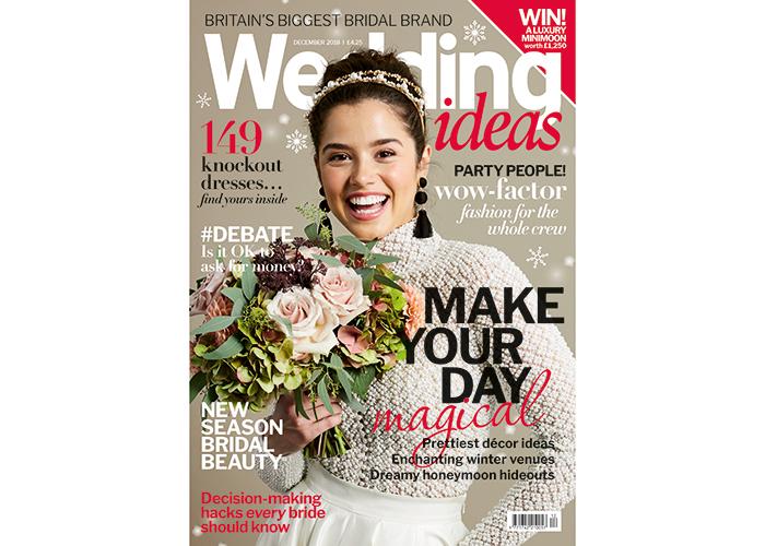 Wedding Ideas December issue