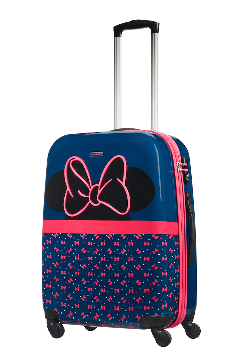 Disney suitcase Samsonite ultimate spinner luggage
