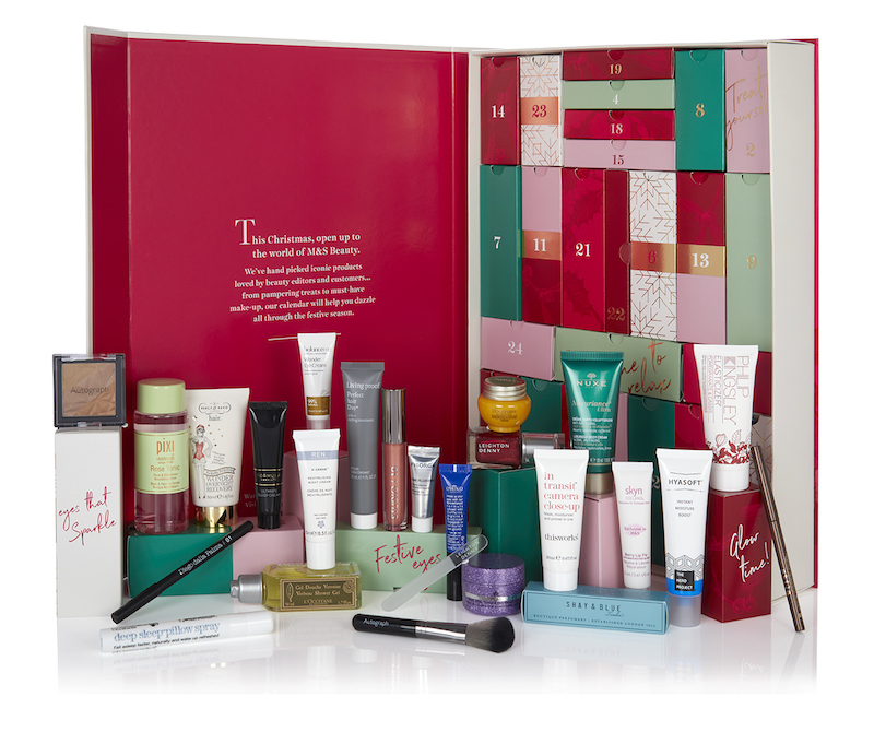 M&S beauty Advent Calendar 2018