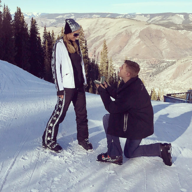 Paris Hilton getting engaged