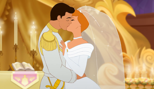 Cinderella kiss The Most Romantic Disney Quotes for Your Wedding Speech
