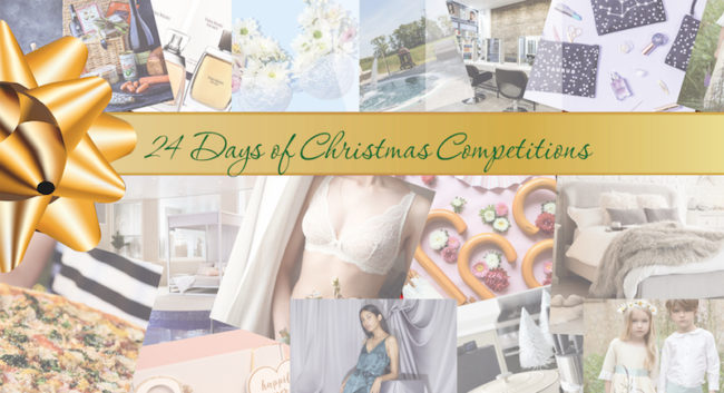 24 days of christmas competitions wedding ideas advent