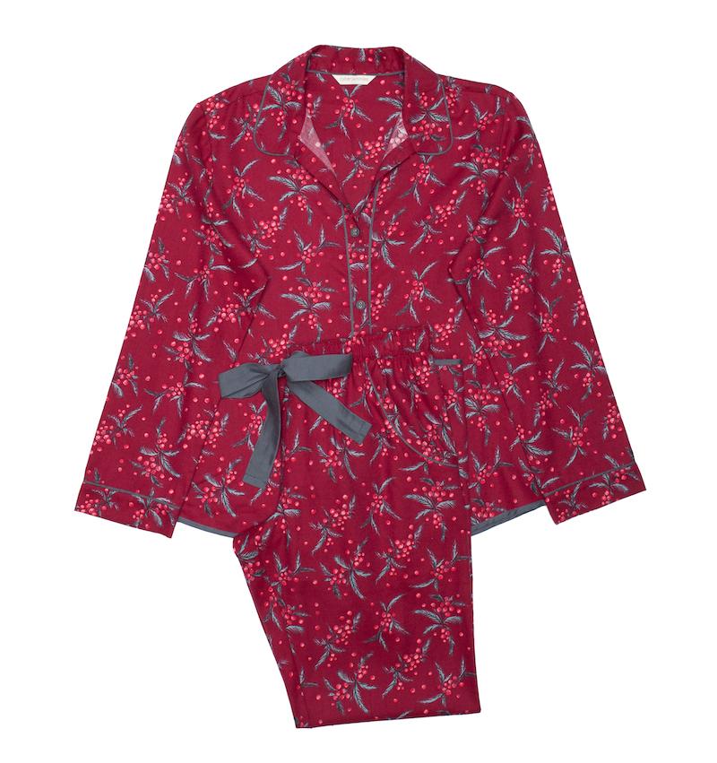 Berry print pyjamas