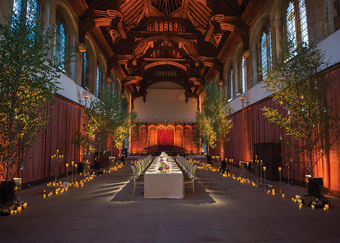 Eltham Palace wedding reception
