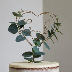 eucalyptus cake topper