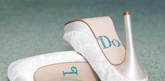 lace 'I do' wedding heels best bridal heels