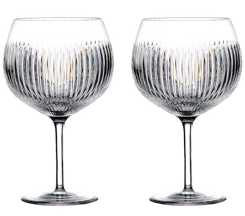 John Lewis Waterford Gin Balloon Glasses