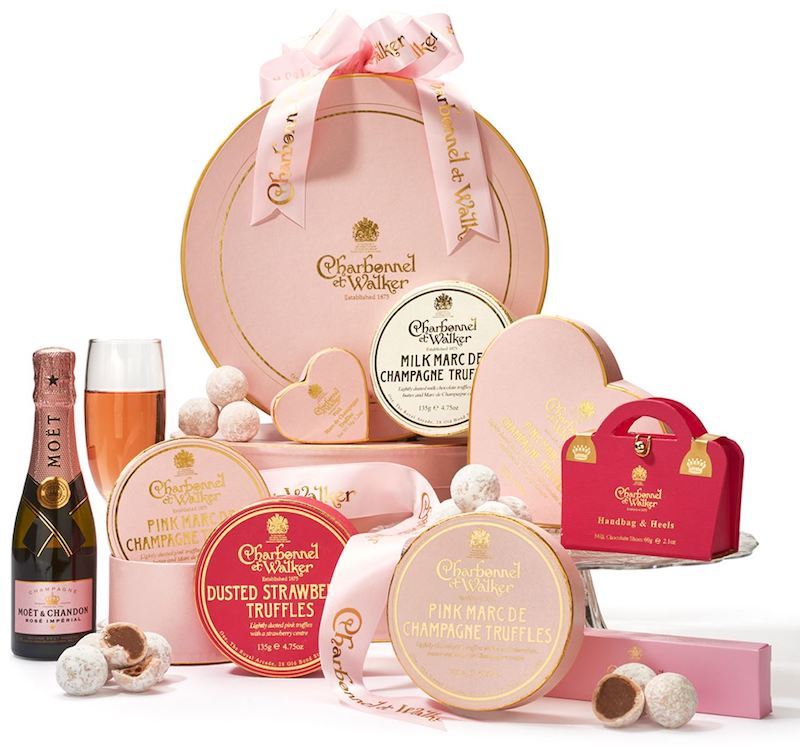 Luxury champagne hamper