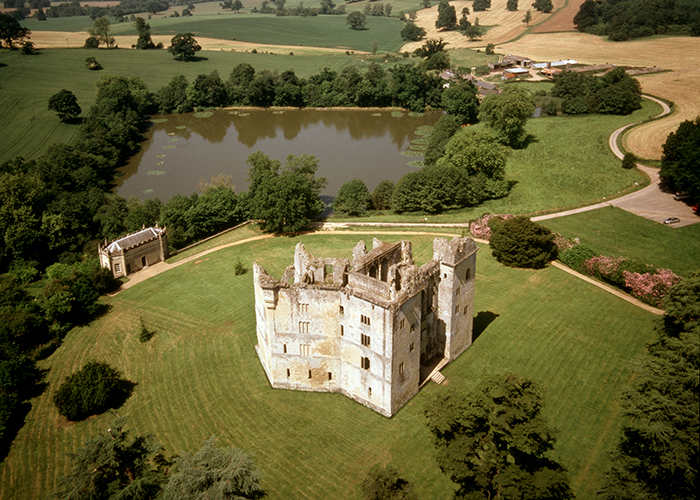 Old Wardour castle Wiltshire