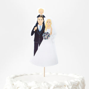 animated cake topper