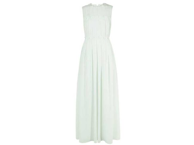 pale green bridesmaid dress from ted baker best bridesmaid dresses