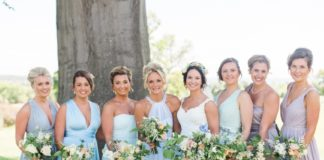 Bridesmaids in different dresses - How to Choose the Right Dresses for Your Bridesmaids