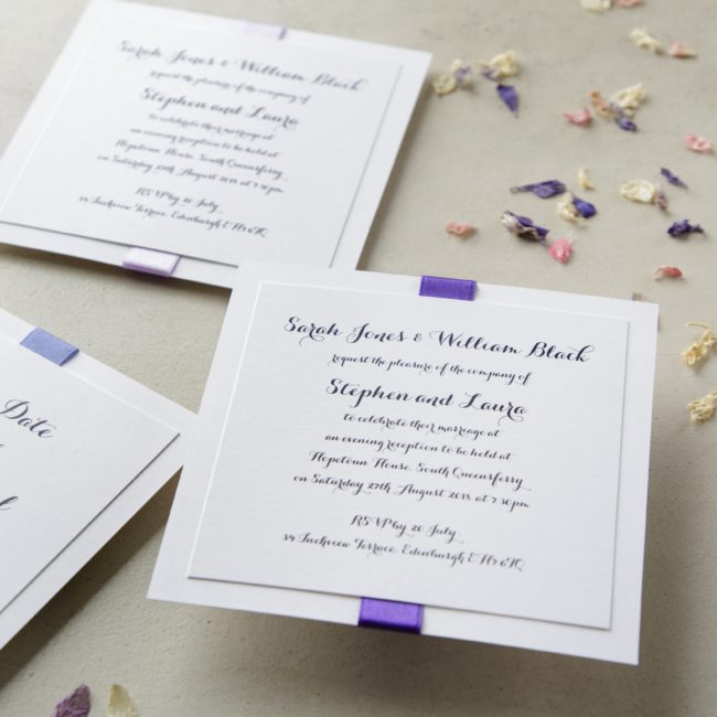 How To Make Your Own Wedding Invitations Wedding Ideas Mag