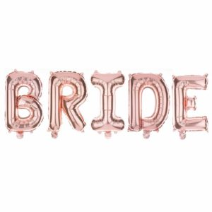bride balloons hen party decorations