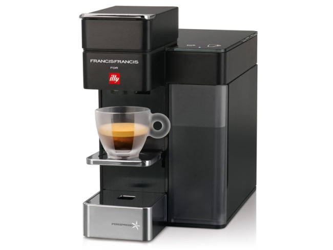 Francis Francis Illy coffee machine
