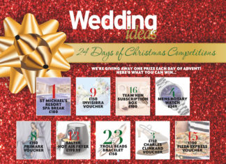 24 Days of Christmas Competitions Wedding ideas Advent Calendar 2018