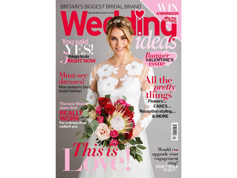 Wedding Ideas Valentine's issue