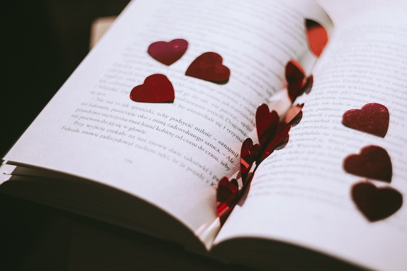 Wedding Readings Wedding Reading Ideas for Every Kind of Ceremony  rose petals in book