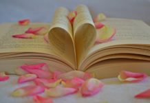 book with rose petals wedding readings traditional and modern wedding reading ideas