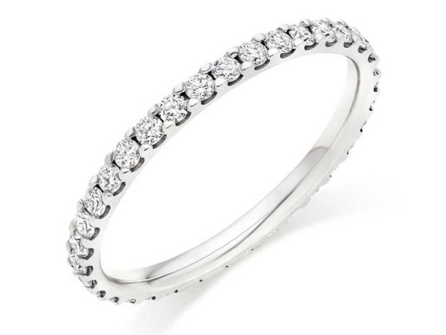 full eternity diamond ring from Beaverbrooks Boxing Day sales