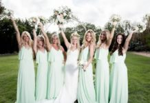 How to Achieve a Mint Green Wedding Theme - Bridesmaids
