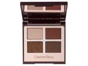Charlotte Tilbury dolce vita palette for winter wedding makeup