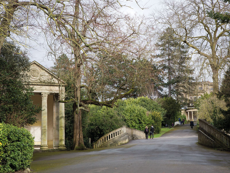 Bath Sydney Gardens park win