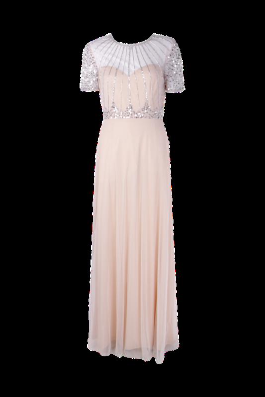 Bridesmaid Dresses Under £100 Blush Bridesmaid Dress Boohoo