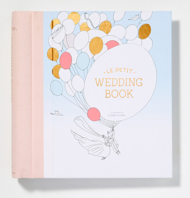 Le Petit Wedding Book Engagement Gifts for the Newly Engaged Couple