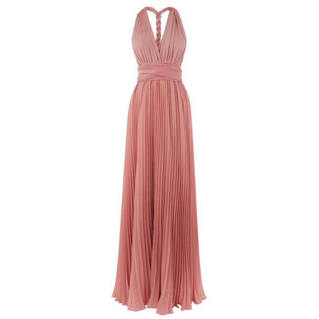 Bridesmaid Dresses Under £100 Pink multiway bridesmaid dress Oasis