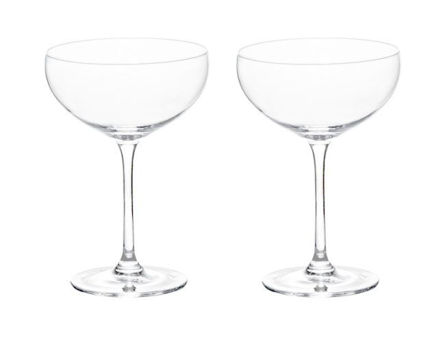 Engagement Gifts for the Newly Engaged Couple ProCook crystal coupe champagne saucers