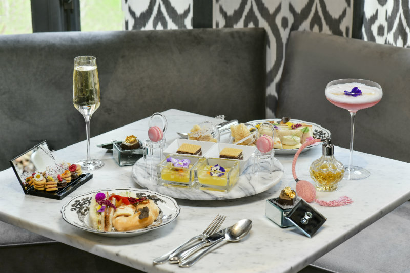 alternative-hen-party-dior-afternoon-tea