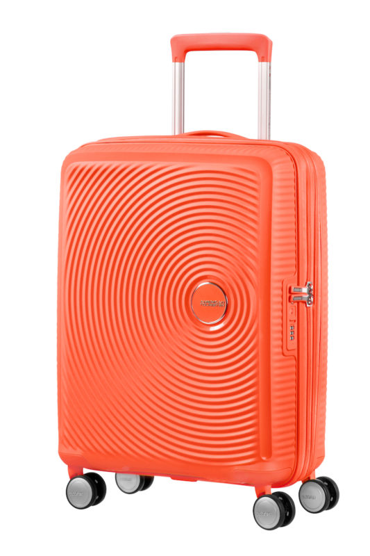 american tourister suitcase peach Win two American Tourister Suitcases for Your Honeymoon