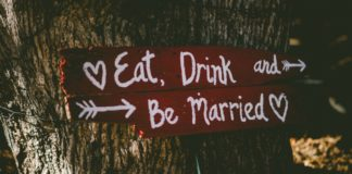 Wedding Food and Drink Trends for 2019 - Wedding sign