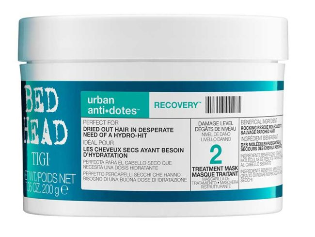 tiki bed head urban anti+dotes hair mask best hair masks