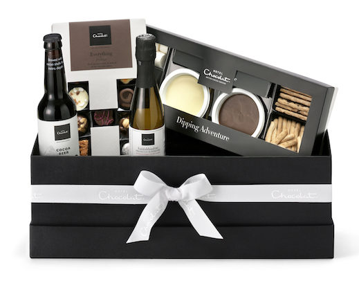 Engagement Gifts for the Newly Engaged Couple chocolate hamper for two couples gift hotel chocolat