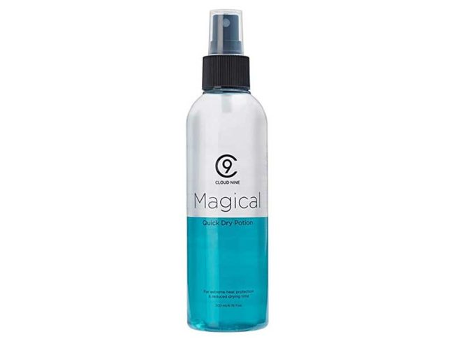 cloud nine magical quick dry potion heat protection sprays