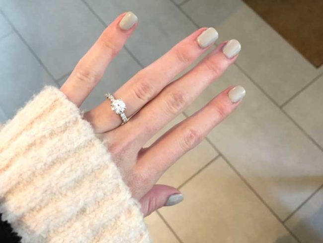 kelly's engagement ring My Wedding Diary: The Nine-month Countdown