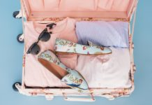 pink suitcase honeymoon packing checklist