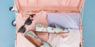 pink suitcase honeymoon packing checklist