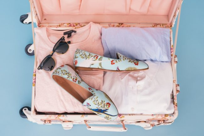 pink suitcase honeymoon packing checklist Honeymoon Checklist: The Travel Essentials you Need to Pack