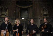 status cymbal string quartet wedding entertainment