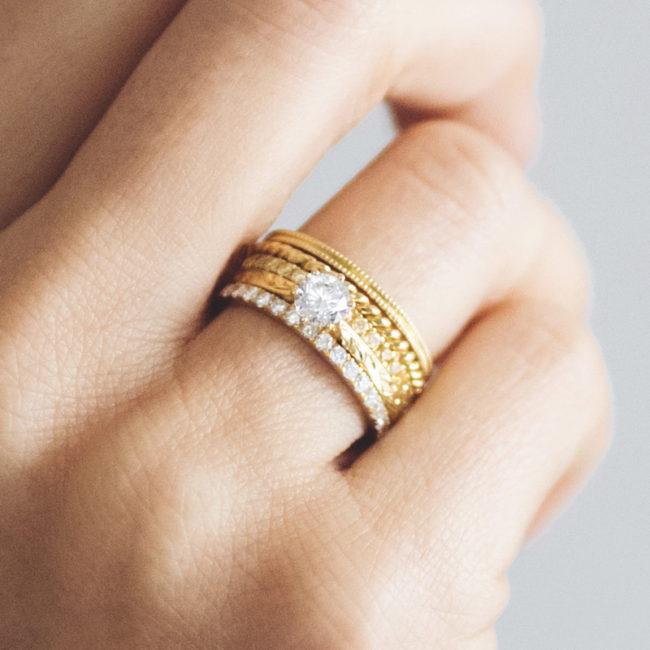 Arabel Lebrusan wedding ring on wedding finger hand Win 10k Worth of Prizes competition
