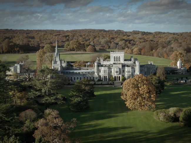 Ashridge House from above the 12 most romantic wedding venues