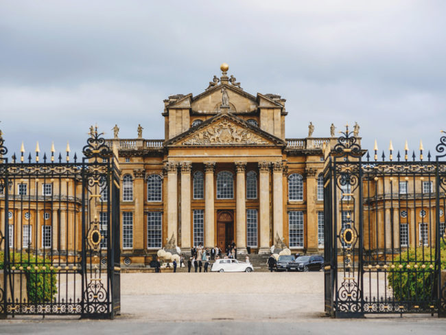 Blenheim Palace exterior The 12 most romantic wedding venues