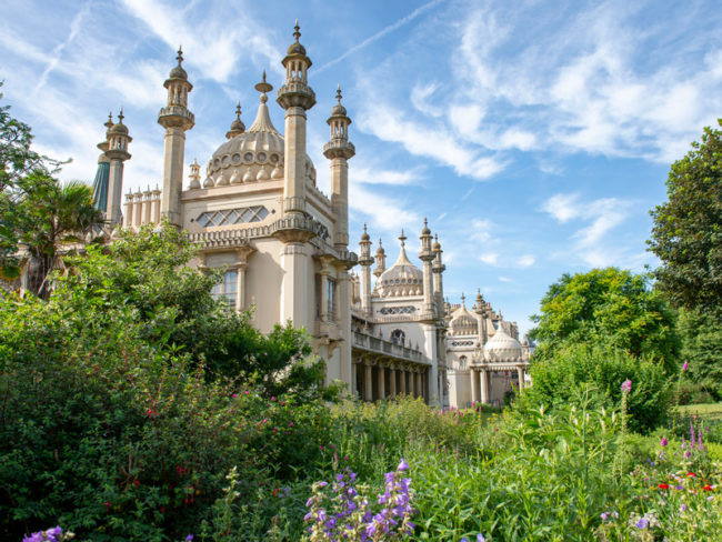 Brighton Royal Pavilion gardens The 12 most romantic wedding venues