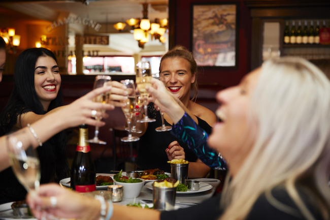Bridal Parties can now Enjoy Free-Flowing Prosecco at Cafe Rouge